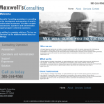 Maxwell Consulting - Web Design